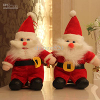 Wholesale Childrens Plush Christmas Gift Toys Santa Claus Doll cm Stuffed Toys