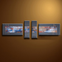 Cheap More Panel Wall Painting Decorating Best Oil Painting Abstract Wall Art