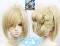 annie wig - Attack on Titan Shingeki no Kyojin Annie Leonheart Blonde Cosplay Wig