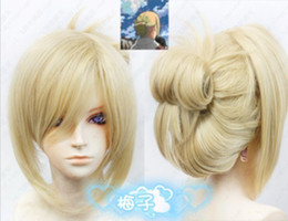 Wholesale Attack on Titan Shingeki no Kyojin Annie Leonheart Blonde Cosplay Wig