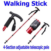 Wholesale Adjustable Telescopic AntiShock Trekking Hiking Walking Stick Pole quot to quot