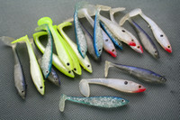 Wholesale 20pcs FISHING PLASTIC SOFT LURES WORM BAITS g g
