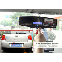 mp3 hd 3.5 - Dual Lens inch Bluetooth Car DVR Wireless Parking Back up Camera Car Black Box with MP3 FM Transmitter