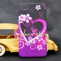 case bb - Butterfly Flower Heart Star Soft TPU Gel back Case Cover For BlackBerry Z10 BB