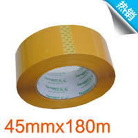 Wholesale beige sealing glue Transparent tape High quality carton sealing tapes packing tapes mm m
