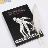 Wholesale The reductionism notebook book death note goose feather pen