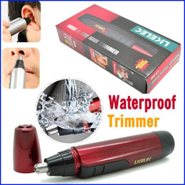 Wholesale new arrival red nose ear trimmer for the eyebrows beard electric shavers for men