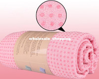 Wholesale healthy Yogitoes skidless yoga towels bankets SGS micro fiber and eco friendly silicon dioxide dot freeshipping