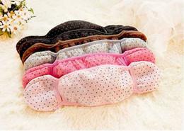 Wholesale Cute Winter Cotton Cloth Masks Earmuffs IN1 Warm Mouth Ear Care Ride Masks Free