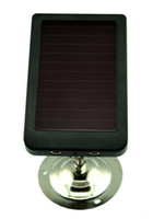 Solar Charger   hunting camera solar charger solar battery panel for trail camera Free Shipping