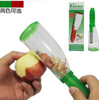 Wholesale New Creative No Mess Apple Fruit Peeler Stored Fruit Vegetable Peeler Kitchen Tools