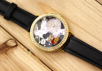Wholesale 3pcs MINI Korea Japan Polymer Clay Handmade Winnie the Pooh Miniature Girl Children Fashion D Watch