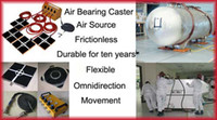 Wholesale air bearing casters applications and specifications