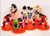 Wholesale Dragon ball z figures th Goku figure chidren toy Christmas gift set
