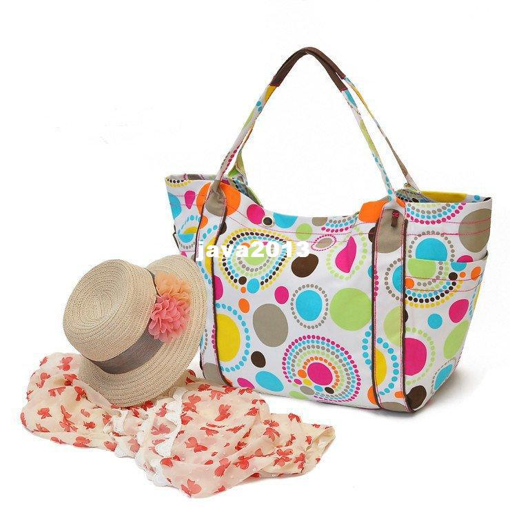 Hb884 Thirty One Zip It Large Thermal Lunch Picnic Bag Beach Tote ...