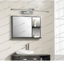Wholesale LLFA90 cm W Lanhome LED Brief Modern Stainless Steel Bathroom Mirror Cabinet Mirror Light Cosmetic Lamp Lights Lighting