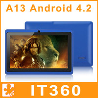 Wholesale Best gift for kids inch Android Q88 ALLwinner A13 GHz GB Flytouch Webcam MID Tablet PC
