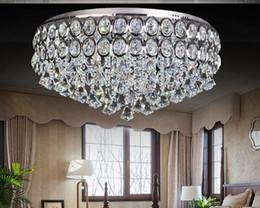 Modern Crystal Chandelier LED Ceiling Light Pendant Lamp Fixture Lighting 80cm