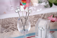 Wholesale 100sets Fashion wedding gift Fashion Fruit Fork Small Fruit Stainless Steel Dessert Tableware Cake Fork White romantic fruit fork