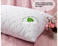 Wholesale cotton fibercover x75 memory foam pillow cushion pillow cervical health care