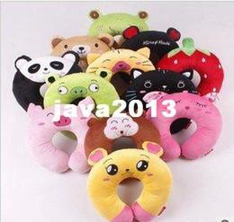 Wholesale ZT005 health care neck plush toys cartoon U shaped pillow