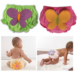 Wholesale butterfly Baby Training Pants Children s Briefs Boxers newborn Bread Pant Panties nappies Diaper Cover underpants underwear D93