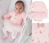 Wholesale New arrival Baby Kids one pieces Clothes Romper children long sleeve rompers cotton