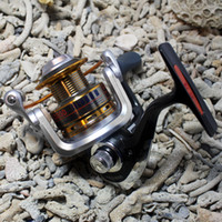 Fly Fishing Christmas  Fishing Spinning Reel REG1000 10+1 ball bearing High Speed 5.2:1 Aluminum Spool