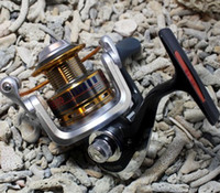 Fly Fishing Christmas  Fishing Spinning Reel REG5000 10+1 ball bearing High Speed Aluminum Spool