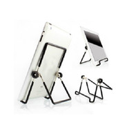 Wholesale 180 Degrees Rotation Multi Angle Stand Holder Metal Adjustable Folding Support for inch iPad Android tablet PC notebook DHL