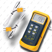 Wholesale GHJB520 Digital Thermometer Thermocouple Sensor Dual K Type Two Channel Thermometer