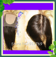 3. 5*4 4*4inch Top Quality Straight Silk Base Top Closure Vir...