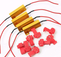 Wholesale W Ohm LED Load Resistor for led Turn Signal Light led Fog Light led Running Light led Resistors car auto Resistor