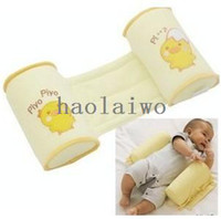 Wholesale Brand new Baby Sleep Head Positioner Anti rollover Toddler Safe Cotton Anti Roll Pillow