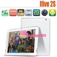 Wholesale New FNF IFIVE S Quad Core RK3188 IPS Screen Tablet PC RK3188 Cortex A9 GB RAM GB ROM Android Mini Pad Bluetooth