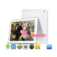 Wholesale 9 inch FNF IFIVE S Tablet PC Quad Core RK3188 IPS Screen RK3188 Cortex A9 GB RAM GB ROM Android Mini Pad Bluetooth