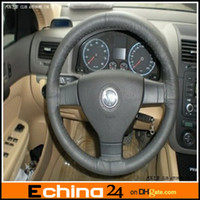 Wholesale Genuine Leather Steering Wheel Cover Steering Wheel Case Wheel Protect