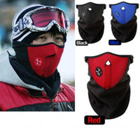 Wholesale 10pcs Warm Neoprene Winter Ski Mask Snowboard Motorcycle Bike Soft Red Black Blue