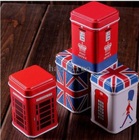 Wholesale Retail Mini Tin Jewelry Box Square Candy Storage Box Wedding Favor Box PH035 Drop Shipping