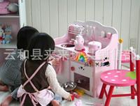 Wholesale Children Play Toy Exports Strawberries Oversized Luxury Kitchen Stove Toys Wooden Simulation Kitchenwares