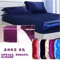 Wholesale Silk fitted sheet silk chuangbao mulberry silk cm customize