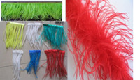 Wholesale 80 Inch mix color Artifical ostrich feather boa feather puff for kids clothes