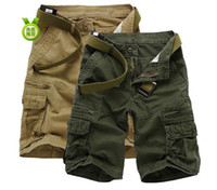 Wholesale Summer New Sport Straight Pants Cargo shorts pants Men s Casual Bermuda Shorts pants