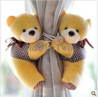 Wholesale tieback window curtain hook Litter bear Curtain buckle belt