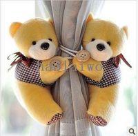 Wholesale tieback window curtain hook Litter bear Curtain buckle belt