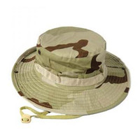 Wholesale Fishing Hunting Army Marine Bucket Jungle Cotton Military Boonie Hat Cap