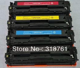 Wholesale de alta qualidade cartucho de toner compatível cor para HP M251 M276 CF210 A