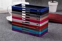 Sony Xperia Z L36H Aluminum Metal 10 colors available Aluminum Bumper Back Frame Metal Bumper Cleave Cover Case For Sony Xperia Z L36H P-196
