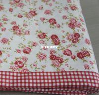 Wholesale Red Rose Bedspread cotton pink floral sheet bedclothes bedding korean bedding set