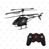 Wholesale GLL172 WL S977 CH Radio remote Control Metal Gyro rc Helicopter With Camera